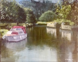 Peaceful Thames 2017: SOLD