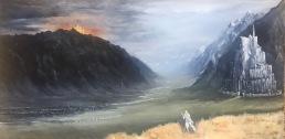 Gandalf's Ride to Minas Tirith : NFS