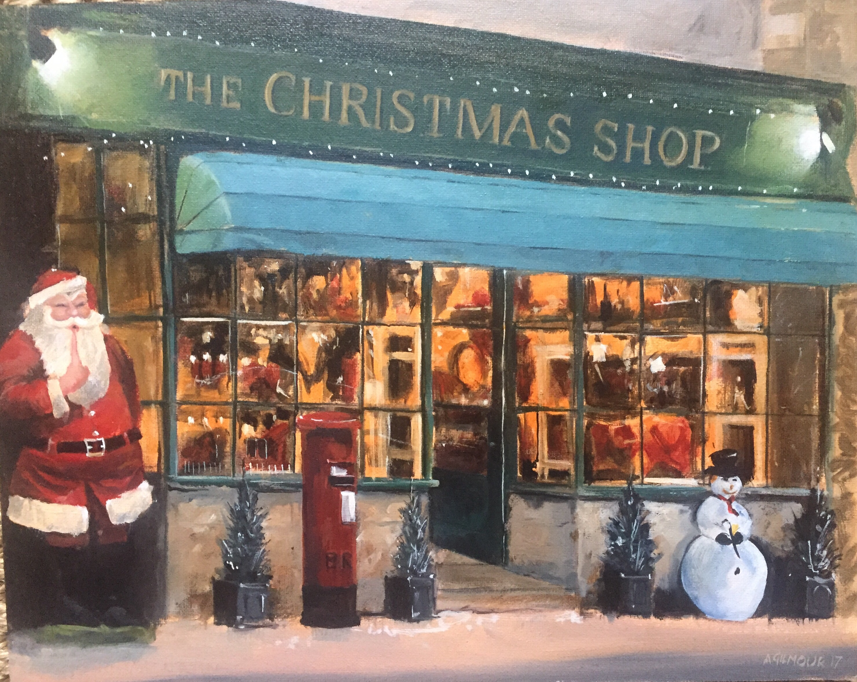 Christmas Shop Lechlade 2017: £130